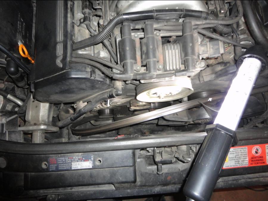 Как заменить насос ГУР на Ауди А6 пошаговая инструкция