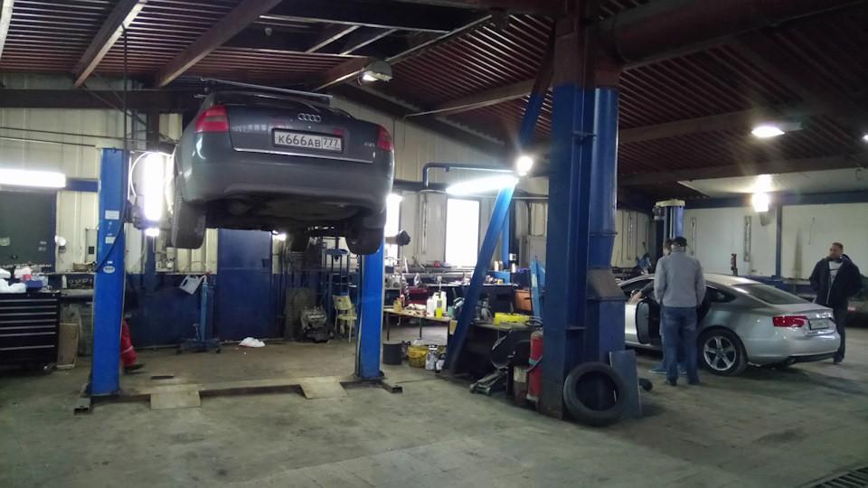 Замена масла в вариаторе Audi А6 C5 – пошаговая инструкция