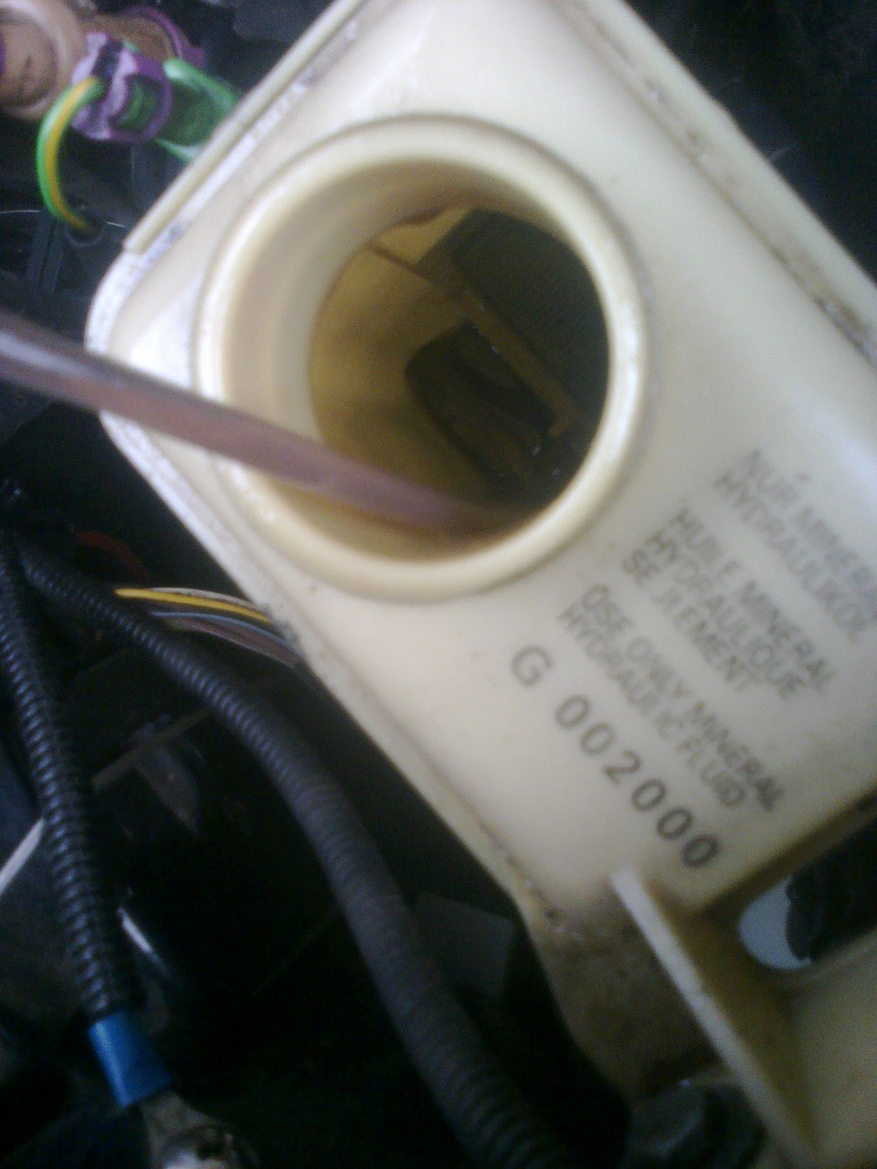Замена масла в гидроусилителе руля на Ауди А6 С5