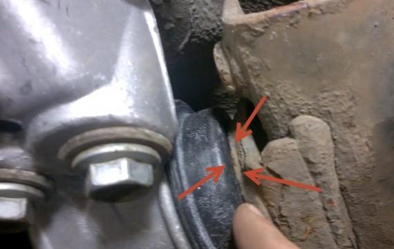 Как заменить задние сайлентблоки на Ауди А6