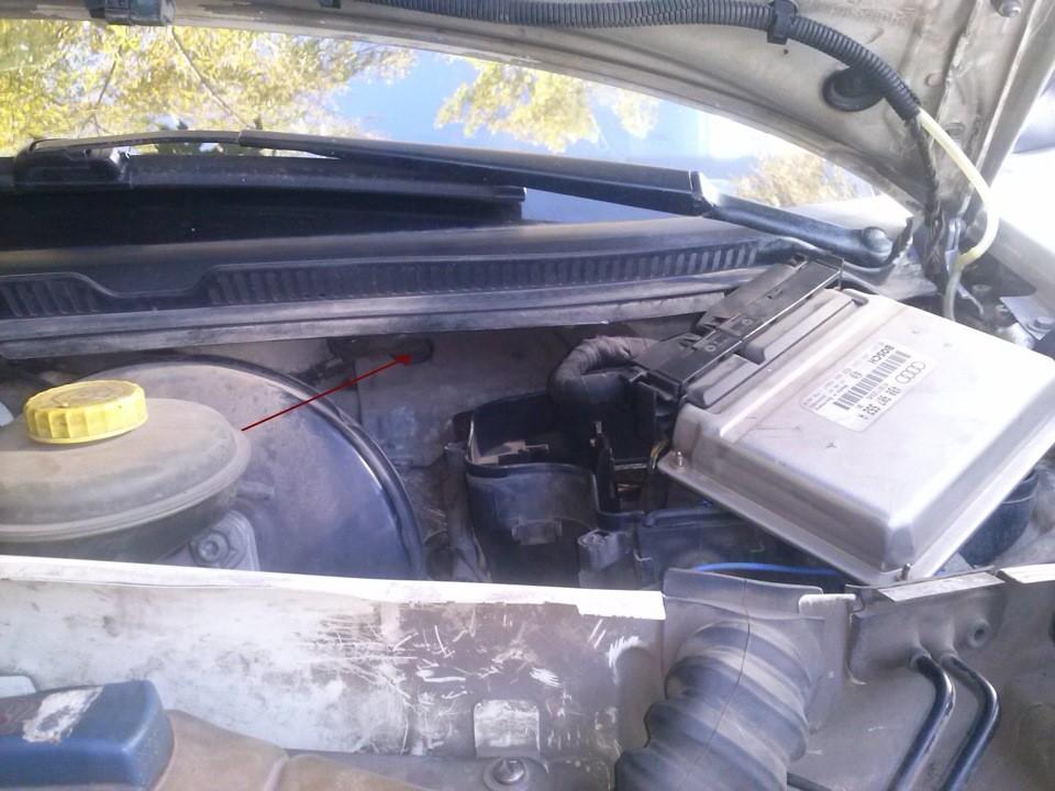 Как заменить радиатор печки на Ауди А6 С5