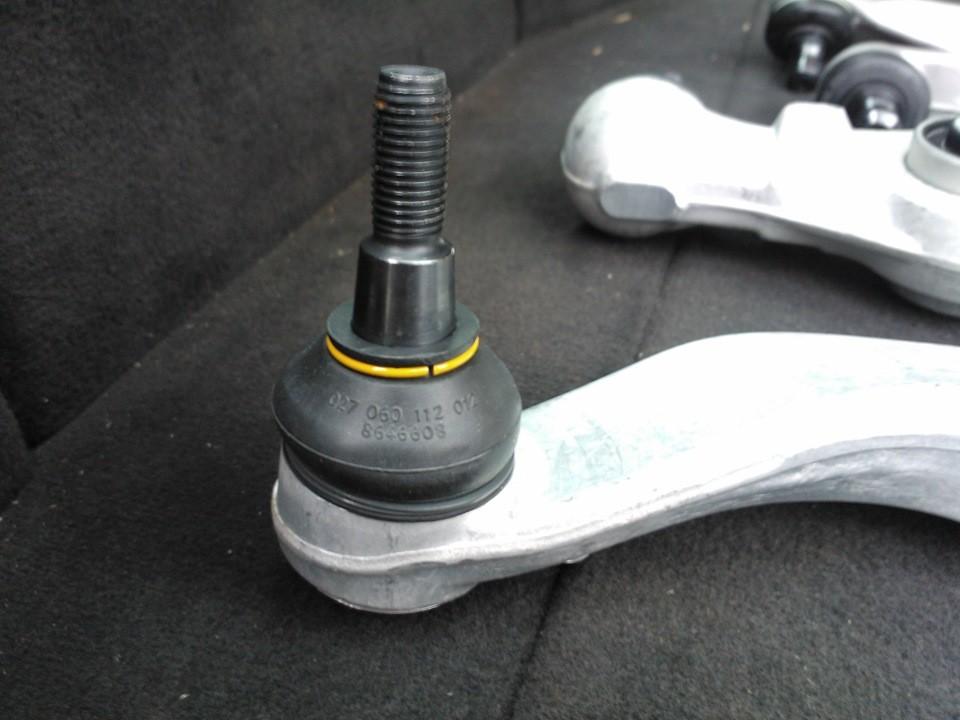 Как заменить верхние и нижние рычаги подвески на Ауди А6 С5