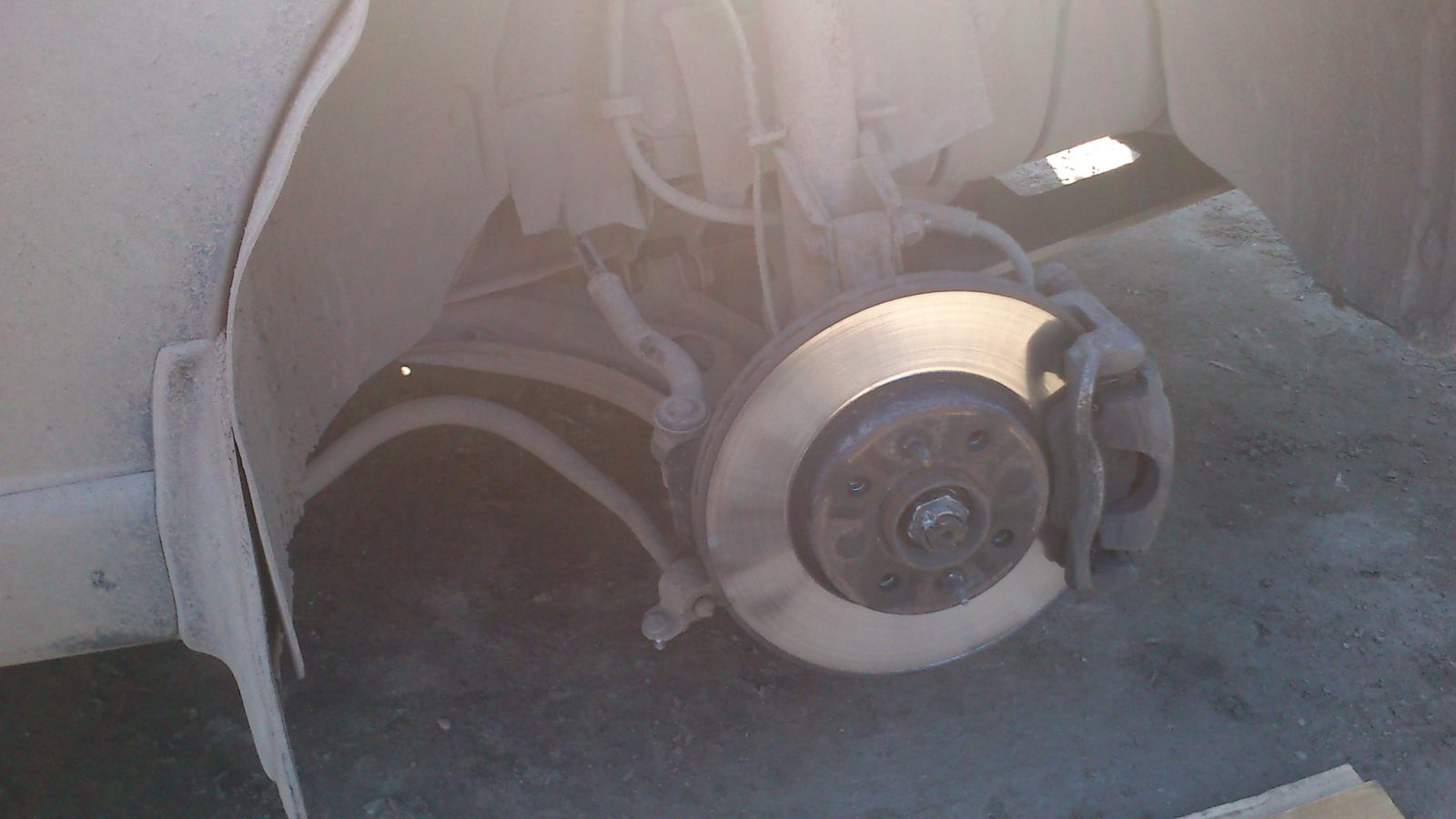 Ремонт передней подвески Fiat Albea своими руками