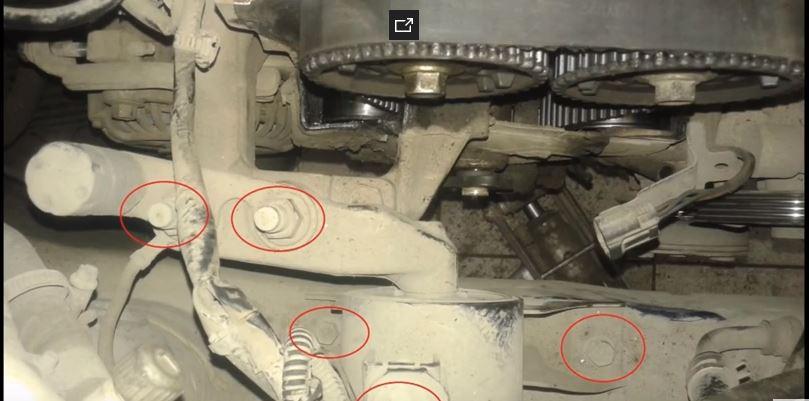 Как заменить ремень ГРМ на Mazda 323 ZL Familia