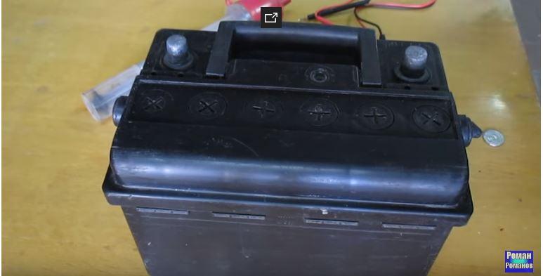 Исправная аккумуляторная батарея