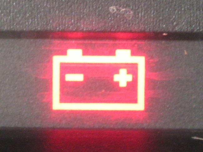 Лампочка индикатор заряда батареи Ваз