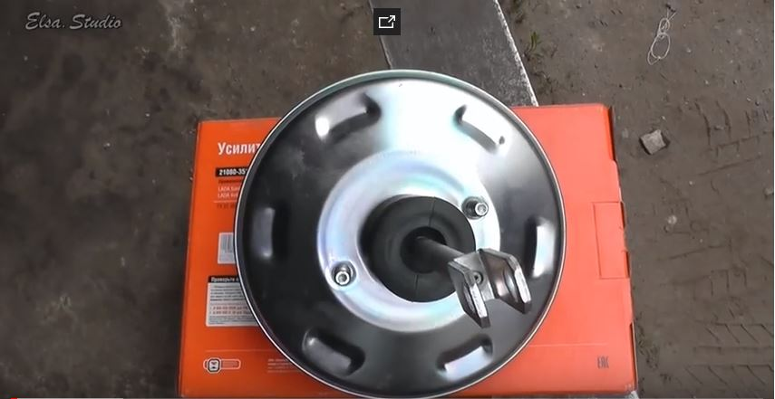 Новый вакуумный усилитель тормозов для Ваз 2109
