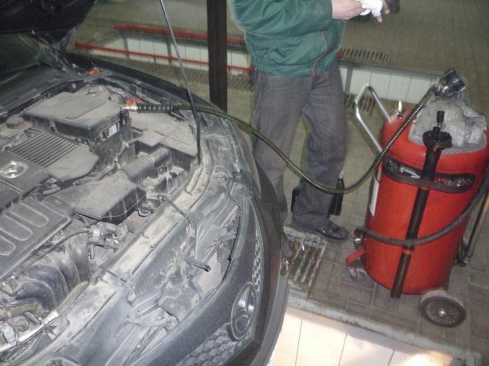 Как заменить масло в АКПП Мазда 3 своими руками