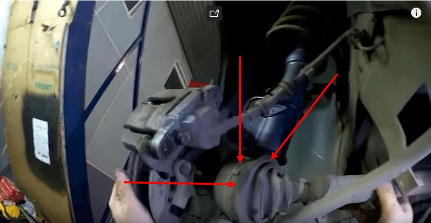 Замена пыльника внутреннего Шруса Ваз 2110 – своими руками