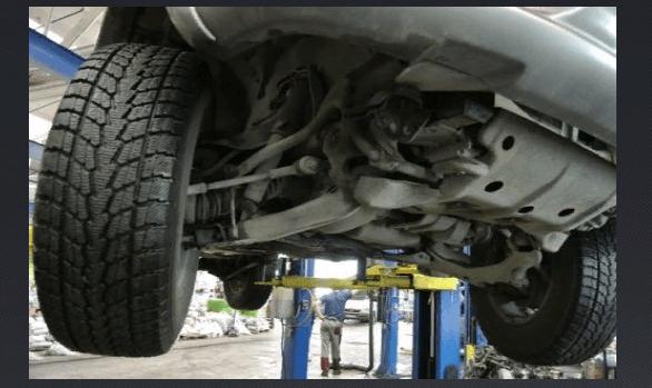 Проведение работ по регулировке передних колес Ваз 2109