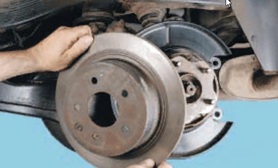 Задняя ступица (подшипник) Nissan Qashqai неисправности и способы их устранения