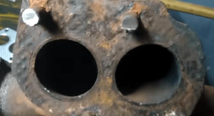 Неисправности и самостоятельный ремонт выпускного коллектора Нива