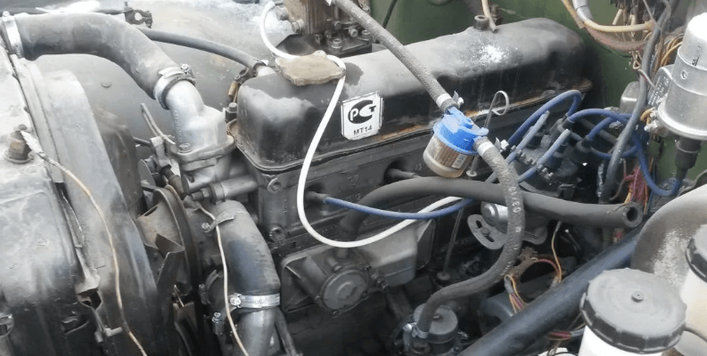 Двигатель ГАЗ 53 - установка на УАЗ Патриот