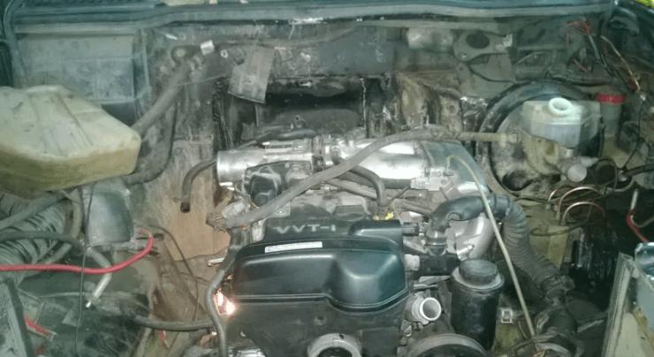 Двигатель от Тойота на УАЗ Патриот
