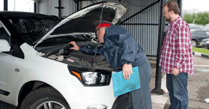 Проверка номера ДВС при постановке автомобиля на учет