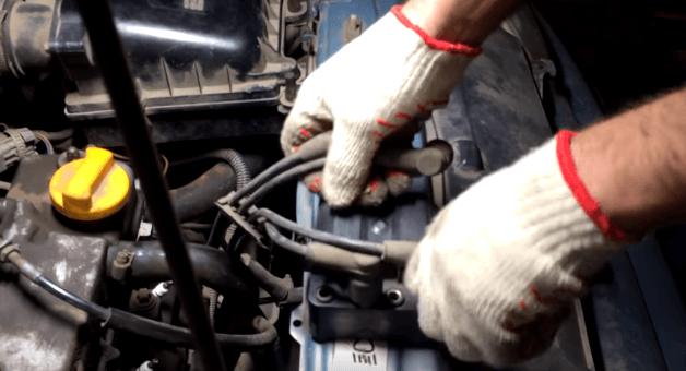 Подключение бронепроводов к модулю зажигания Ваз 2114