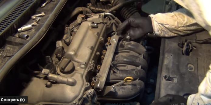 Топливные форсунки Toyota Corolla 120 150 кузов – снятие промывка установка своими руками