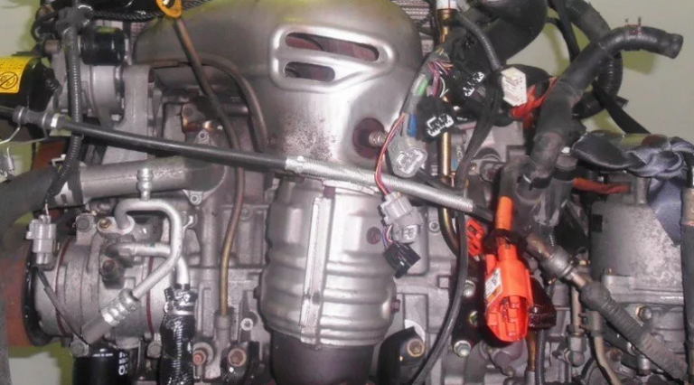 Так выглядит двигатель 2AZ-FCE