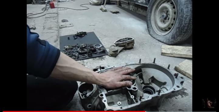 Процесс ремонта коробки передач ВАЗ 2110