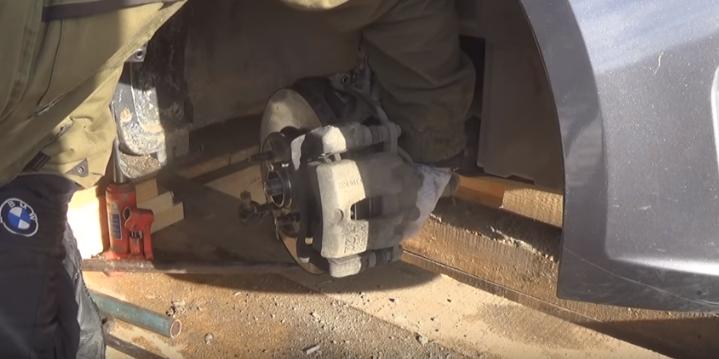 Замена переднего ступичного подшипника на Киа Рио своими руками
