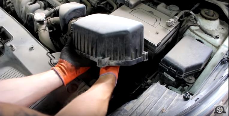 Киа Рио: Замена масла МКПП (механической коробки передач)