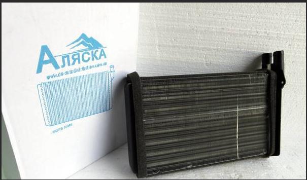Новый радиатор Аляска Ваз 2114
