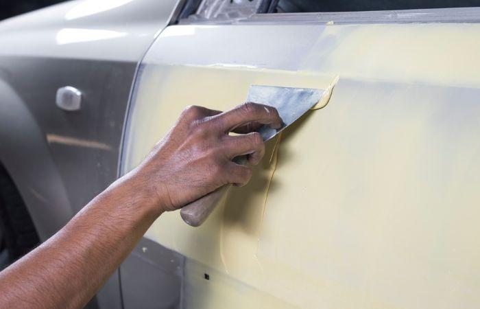 как покрасить машину
